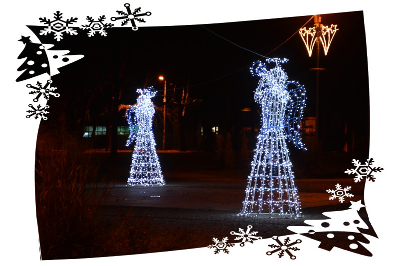 Ufundowana przez LEROY MERLIN w Zgorzelcu dekoracja na Placu Wolności w Pieńsku