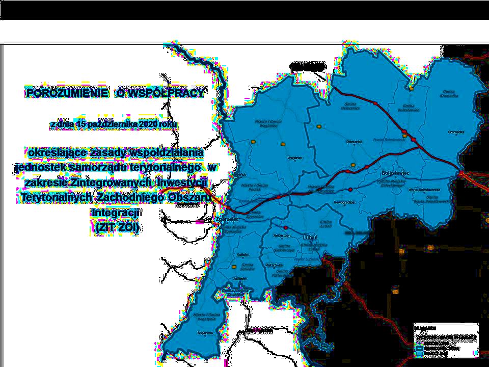 mapa zasięgu ZOI