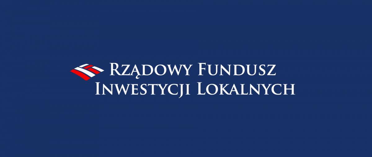logo Rządowego Funduszu Inwestycji Lokalnych