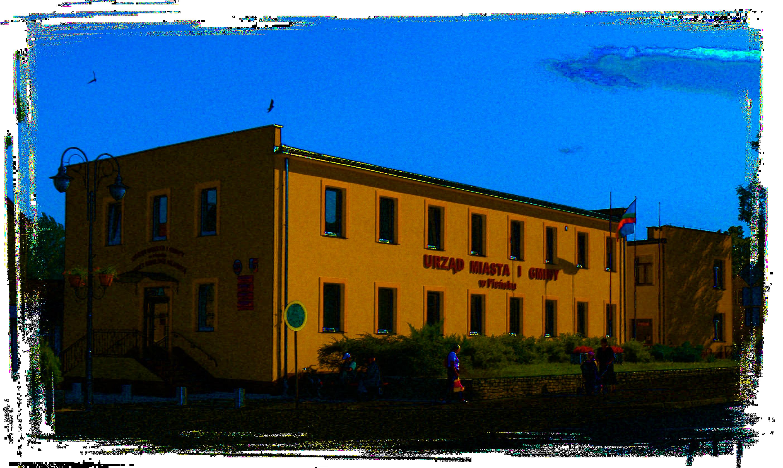 Budynek Urzędu Miasta i Gminy w Pieńsku